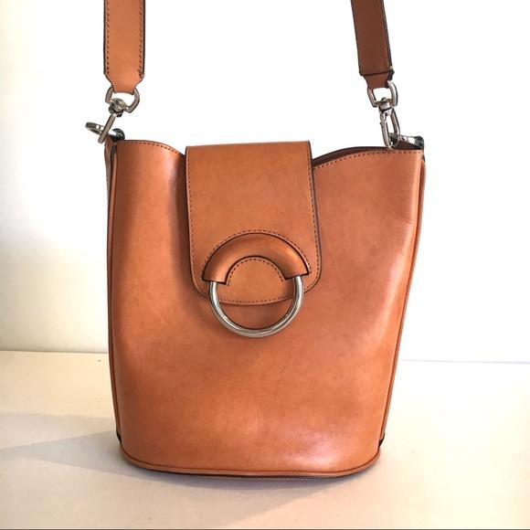 afb2b04f2db7 Banana Republic Handbags - Banana Republic Italian leather bucket bag
